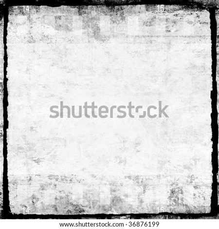 Aged film strip wallpaper - stock photo