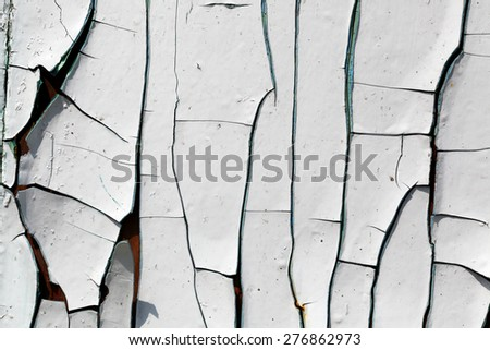 Aged painted wood textured background - stock photo
