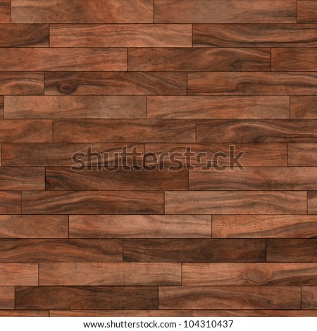 aged parquet floor - stock photo