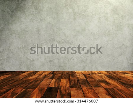 aged room background - stock photo