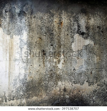 Aged shabby wall texture background. - stock photo