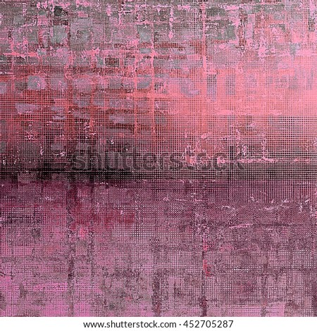 Aged textured background, macro closeup grungy backdrop with different color patterns: gray; black; purple (violet); pink - stock photo