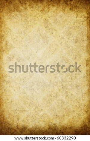 Aged vintage paper texture - stock photo