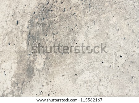 Aged wall background, concrete texture - stock photo