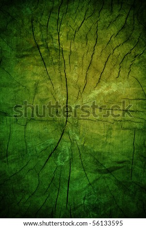 Aged wood cut - stock photo
