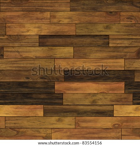 Aged wood illustration. Seamless pattern. - stock photo