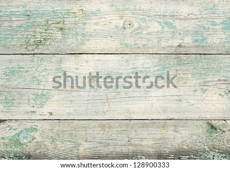 Aged wood texture, wooden wall background - stock photo