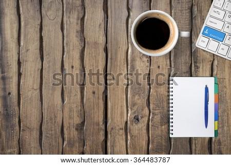 Agenda. - stock photo