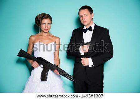 agent 007 - stock photo