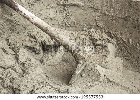 Aggregates Used to produce artifacts dwellings. - stock photo