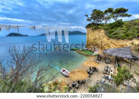 Agios Sostis in Zakynthos island,Greece  - stock photo