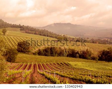 Agriturismo, Italy - stock photo