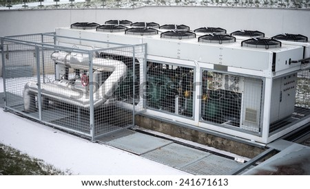 Air conditioner - stock photo