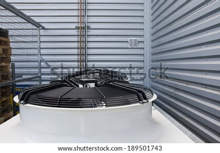 air conditioning - stock photo