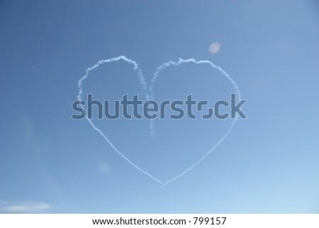 Air Show Photo - stock photo