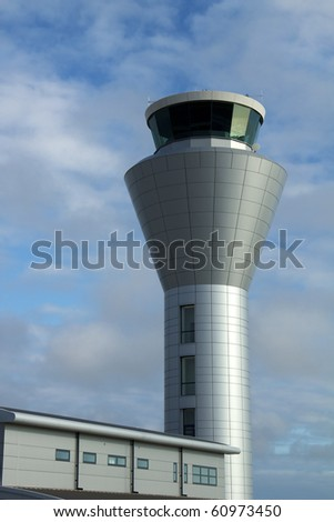 Air traffic control - stock photo