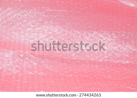 airbubble sheet as abstract background - stock photo