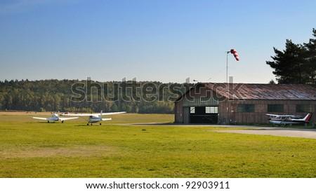 airplaine - stock photo