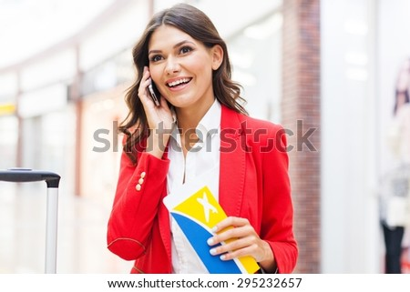 Airport, Travel, Business Travel. - stock photo