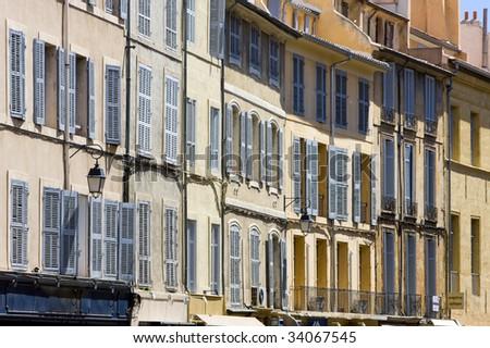 Aix-en-Provence, Provence, France - stock photo
