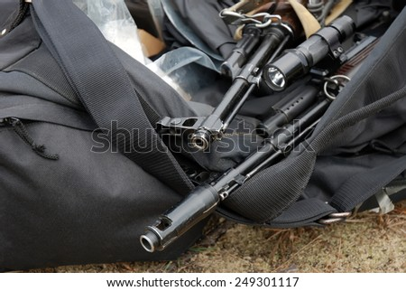 ak-47 - stock photo