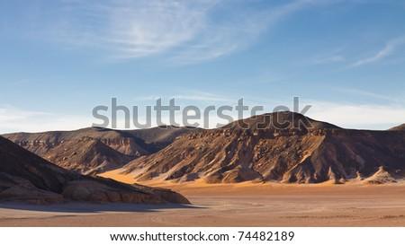 Akakus (Acacus) Mountains, Sahara, Libya - stock photo