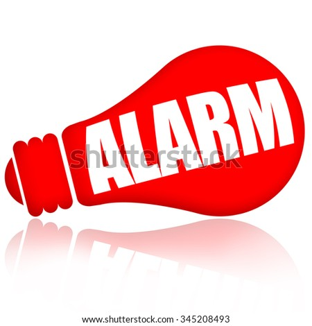 Alarm - stock photo