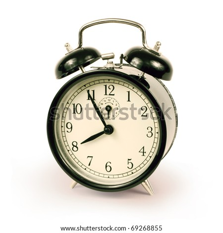 Alarm clock 3 - stock photo