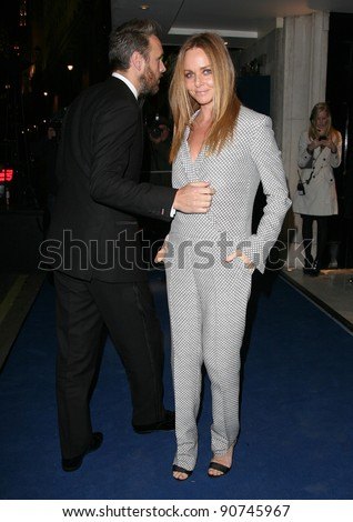 Alasdhair Willis and Stella McCartney arriving for the 2011 British Fashion Awards, at The Savoy, London. 28/11/2011 Picture by: Alexandra Glen / Featureflash - stock photo