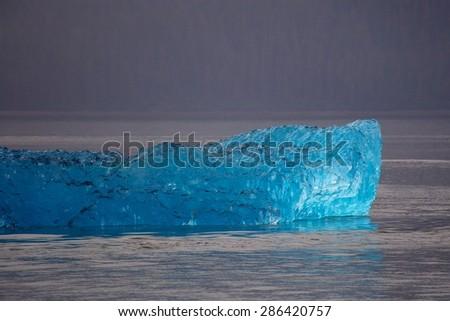 Alaskan iceberg - stock photo