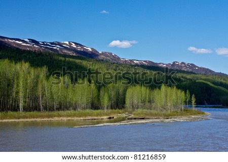 Alaskan Landscape - stock photo
