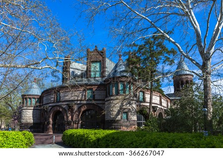 Alexander Hall in Princeton University. - stock photo