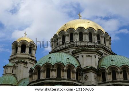 Alexander Nevski Church in Sofia - stock photo