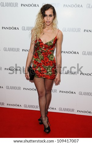 Alice Dellal arriving for the Glamour Women Of The Year Awards 2012, at Berkeley Square, London. 29/05/2012 Picture by: Steve Vas / Featureflash - stock photo