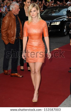 Alice Eve arriving for the 2013 GQ Men Of The Year Awards, at the Royal Opera House, London. 03/09/2013 - stock photo