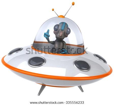 Alien - stock photo