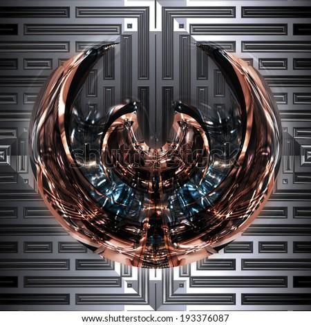Alien Project - stock photo