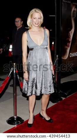 "Alison Eastwood at the Los Angeles Premiere of ""Changeling"" held at the Academy of Motion Picture Arts and Sciences in Beverly Hills, USA on October 23, 2008. - stock photo"