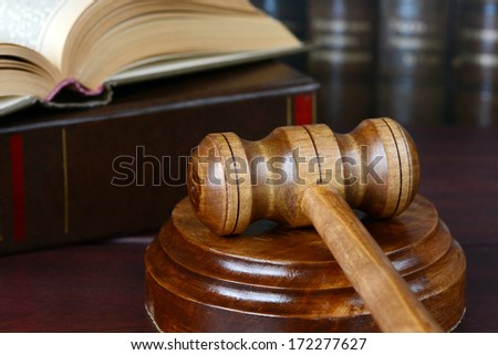 allegory of Justice - stock photo