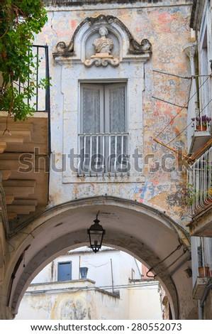 Alleyway. Andria. Puglia. italy.  - stock photo