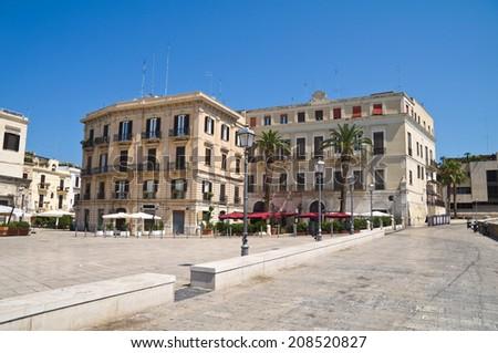 Alleyway. Bari. Puglia. Italy.  - stock photo