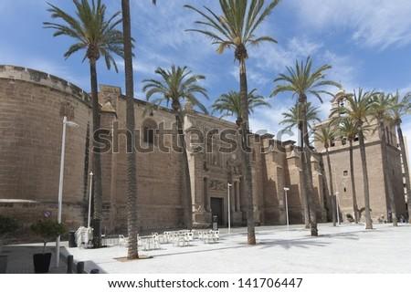 Almeria Cathedral - stock photo