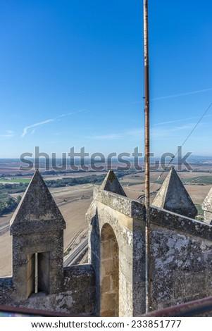 Almodovar del Rio Castle in Spain - stock photo