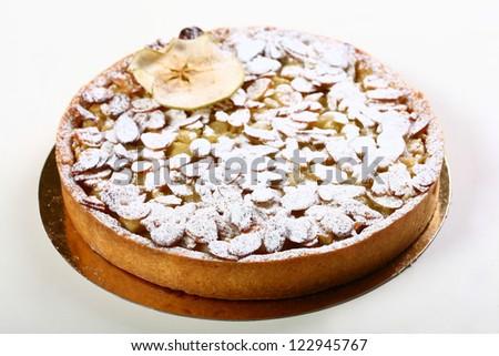 almonds cake - stock photo