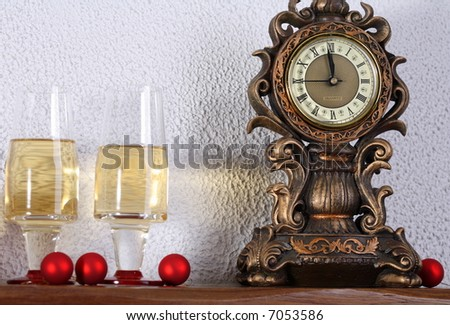 Almost midnight - stock photo
