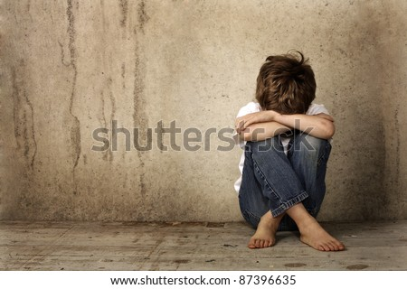 Alone - stock photo