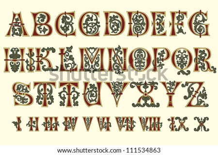 Illuminated Letters Stock Photos, Images, & Pictures | Shutterstock