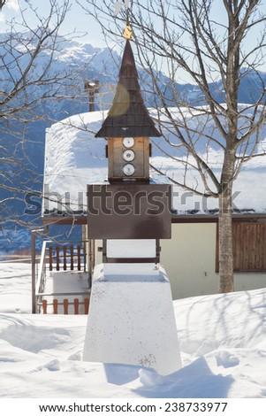 Alpine's barometer - stock photo