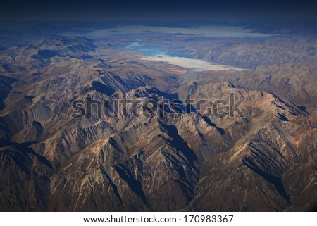Alps Alpine Landscape , New Zealand - stock photo