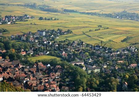 Alsace - stock photo